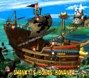 Donkey Kong Country 2 - Diddy's Kong Quest SNES 086