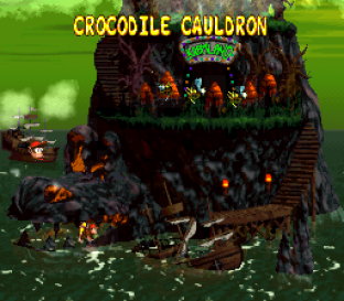 Donkey Kong Country 2 - Diddy's Kong Quest SNES 108