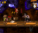Donkey Kong Country 2 - Diddy's Kong Quest SNES 129