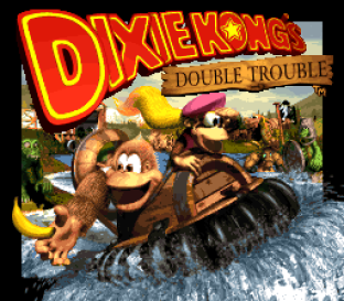 Donkey Kong Country 3 - Dixie Kong's Double Trouble SNES 001