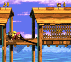 Donkey Kong Country 3 - Dixie Kong's Double Trouble SNES 010