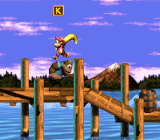 Donkey Kong Country 3 - Dixie Kong's Double Trouble SNES 011