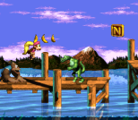 Donkey Kong Country 3 - Dixie Kong's Double Trouble SNES 019