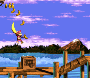 Donkey Kong Country 3 - Dixie Kong's Double Trouble SNES 020
