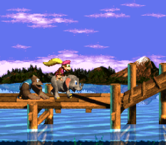 Donkey Kong Country 3 - Dixie Kong's Double Trouble SNES 021