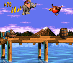 Donkey Kong Country 3 - Dixie Kong's Double Trouble SNES 022