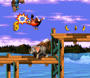 Donkey Kong Country 3 - Dixie Kong's Double Trouble SNES 023