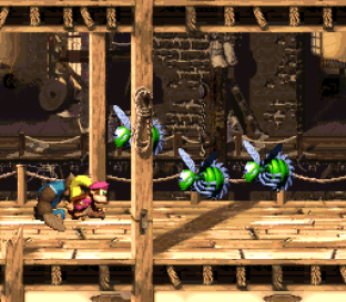 Donkey Kong Country 3 - Dixie Kong's Double Trouble SNES 031