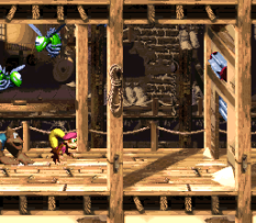 Donkey Kong Country 3 - Dixie Kong's Double Trouble SNES 032