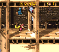 Donkey Kong Country 3 - Dixie Kong's Double Trouble SNES 043