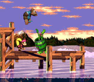 Donkey Kong Country 3 - Dixie Kong's Double Trouble SNES 053