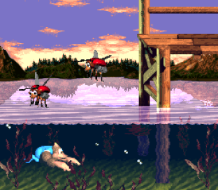 Donkey Kong Country 3 - Dixie Kong's Double Trouble SNES 064