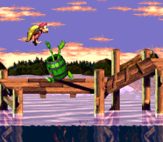 Donkey Kong Country 3 - Dixie Kong's Double Trouble SNES 066