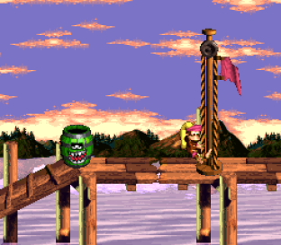 Donkey Kong Country 3 - Dixie Kong's Double Trouble SNES 067