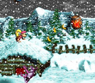 Donkey Kong Country 3 - Dixie Kong's Double Trouble SNES 075