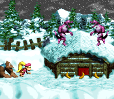 Donkey Kong Country 3 - Dixie Kong's Double Trouble SNES 077