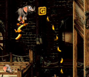 Donkey Kong Country 3 - Dixie Kong's Double Trouble SNES 089