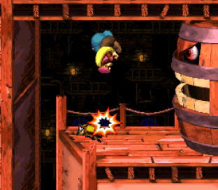 Donkey Kong Country 3 - Dixie Kong's Double Trouble SNES 097