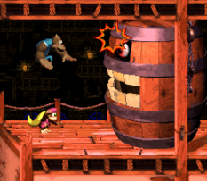 Donkey Kong Country 3 - Dixie Kong's Double Trouble SNES 098