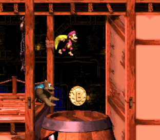 Donkey Kong Country 3 - Dixie Kong's Double Trouble SNES 100