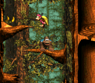 Donkey Kong Country 3 - Dixie Kong's Double Trouble SNES 108