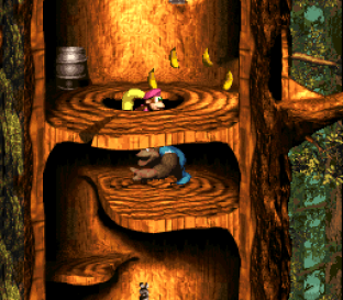 Donkey Kong Country 3 - Dixie Kong's Double Trouble SNES 111