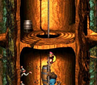 Donkey Kong Country 3 - Dixie Kong's Double Trouble SNES 122