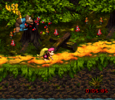 Donkey Kong Country 3 - Dixie Kong's Double Trouble SNES 132