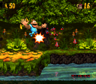 Donkey Kong Country 3 - Dixie Kong's Double Trouble SNES 133