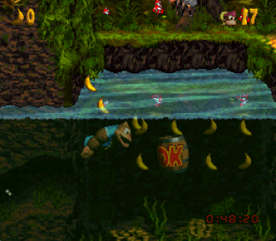 Donkey Kong Country 3 - Dixie Kong's Double Trouble SNES 141