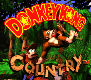 Donkey Kong Country SNES 001