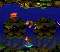 Donkey Kong Country SNES 066