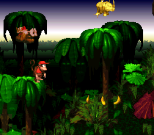 Donkey Kong Country SNES 075