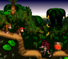 Donkey Kong Country SNES 077
