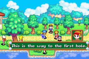 Mario Golf Advance Tour Game Boy Advance The King Of Grabs