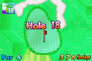 Mario Golf - Advance Tour GBA 100