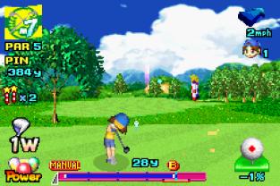 Mario Golf - Advance Tour GBA 133