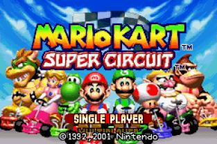 Mario Kart - Super Circuit GBA 001