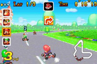 Mario Kart - Super Circuit GBA 009