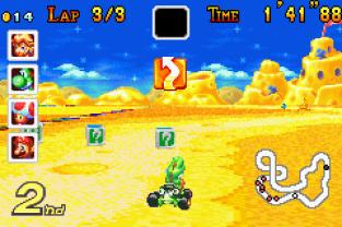 Mario Kart - Super Circuit GBA 100