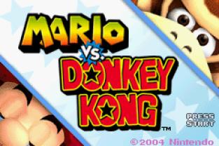 Mario vs Donkey Kong GBA 001