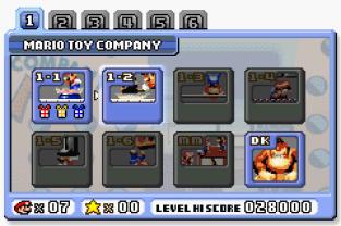 Mario vs Donkey Kong GBA 009