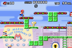 Mario vs Donkey Kong GBA 022