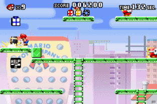 Mario vs Donkey Kong GBA 031