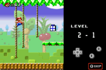 Mario vs Donkey Kong GBA 052