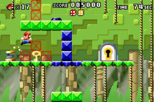 Mario vs Donkey Kong GBA 053
