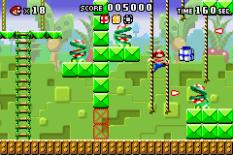 Mario vs Donkey Kong GBA 055