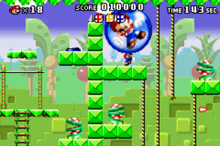 Mario vs Donkey Kong GBA 056