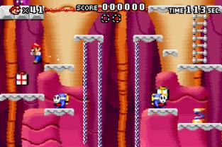 Mario vs Donkey Kong GBA 108