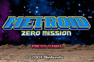 Metroid - Zero Mission GBA 001